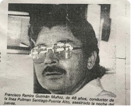 Francisco Guzmán el primer conductor de microbús asesinado por extremistas